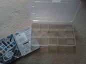 Organizer porta perline minuteria valigetta contenitore. Metti in ordine il tuo materiale creativo!!