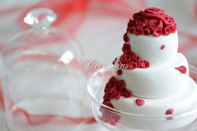 Wedding cake in miniatura - Bomboniera/Segnaposto per le tue occasioni speciali