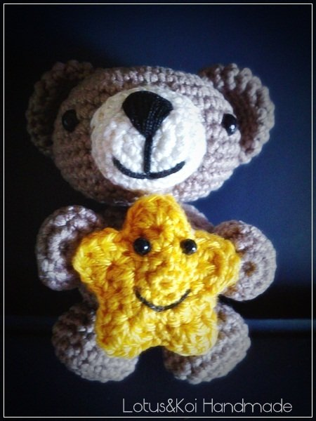 Teddy Bear Kawaii..Orsetto Amigurumi