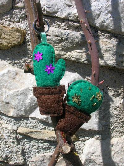 Portachiavi cactus