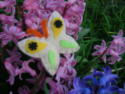Farfalla fermacapelli/spilla