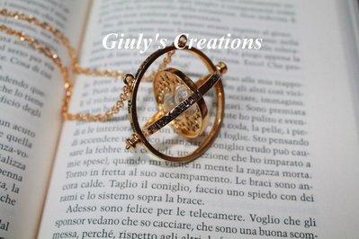 Collana Giratempo Hermione HARRY POTTER versione Luxury!