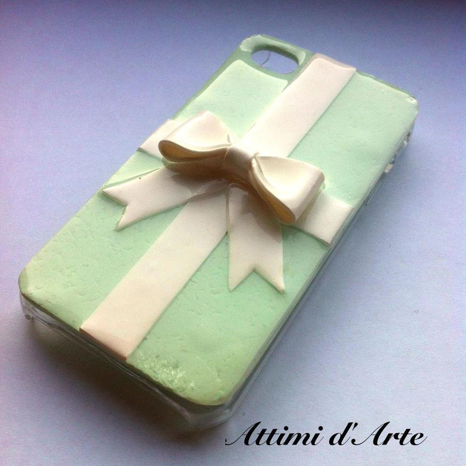 cover iphone 4/4s fantasia pacchetto di tiffany total handmade