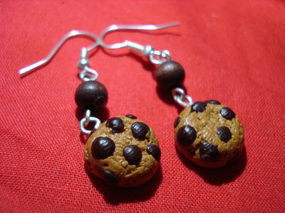 Choco chip cookies Earrings
