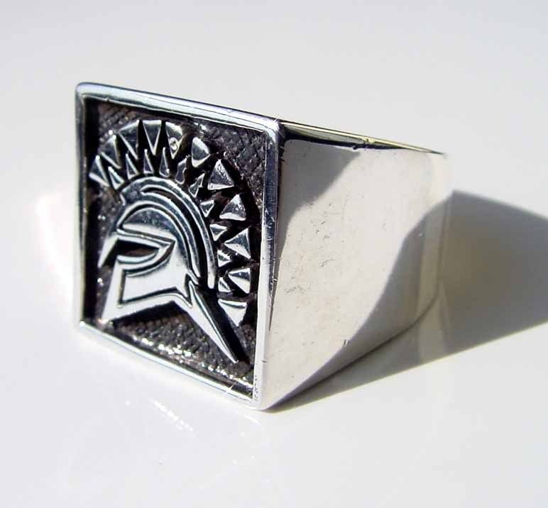 Anello mod. Spartacus in argento 925