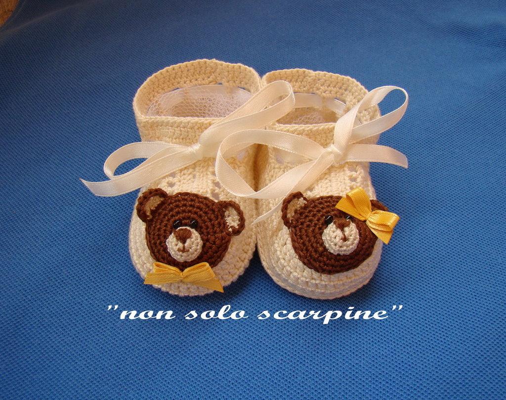Scarpine unisex - Teddy Bear