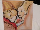 Quadro dipinto a mano