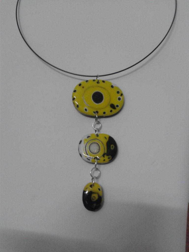 Tris giallo e nero
