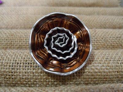 Anello rosellina bronzo
