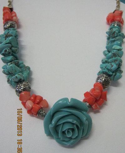 Rosa turchese