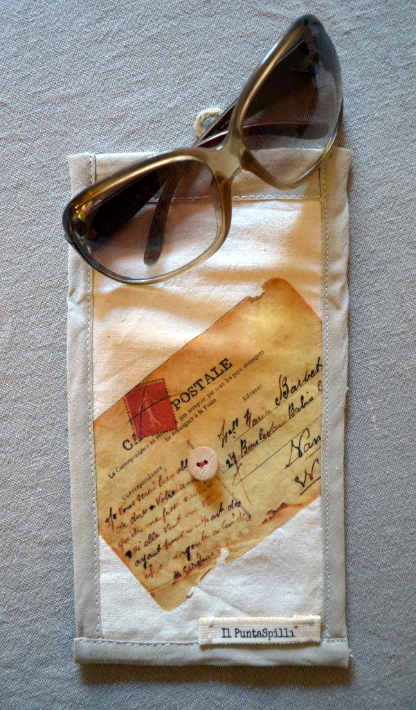 porta occhiali stampato