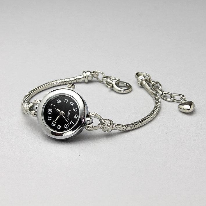 bracciale orologio base charm foro largo