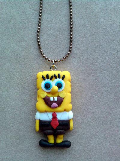 Collana con Spongebob fimo