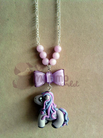 Collana con Mini Pony fimo