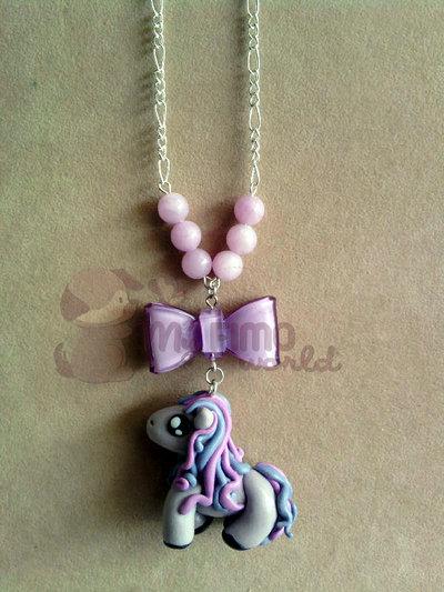 Collana con Mini Pony fimo