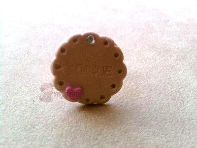 Anello con biscotto fimo