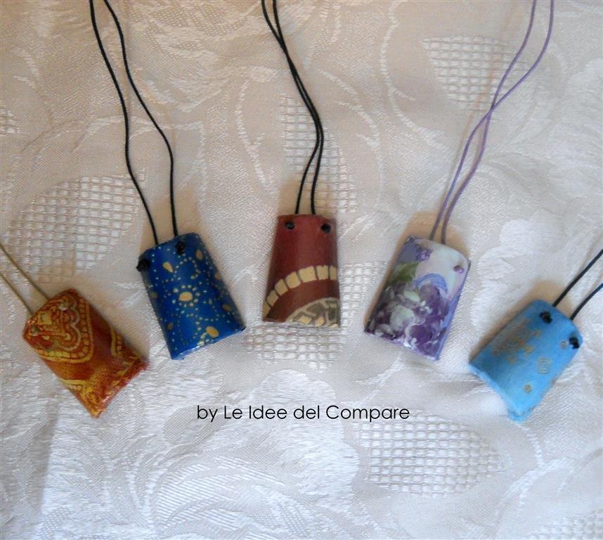 COPPETTI CIONDOLO - decorazioni varie