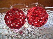orecchini crochet- crochet earrings