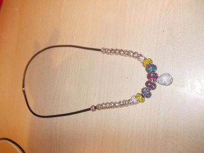 collana con pendente in swarosky