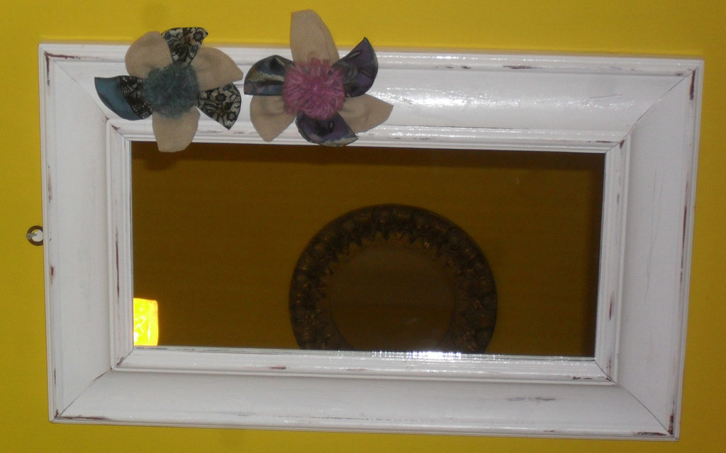 Specchio shabby chic per la casa e per te arredamento - Specchio ovale shabby chic ...