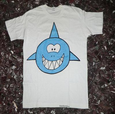 maglietta squalo - taglia M