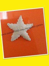 Magnete stella marina in pietra trachite