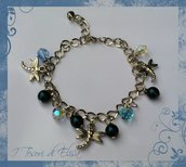BRACCIALE CHARMS TURCHESE