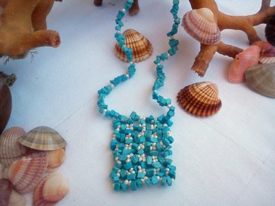 """Collana   turchese """" I colori del mare"""""""