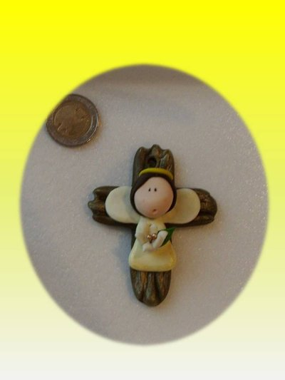 Bomboniera crocifisso croce Prima Comunione
