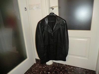 giacca in pelle vintage da uomo