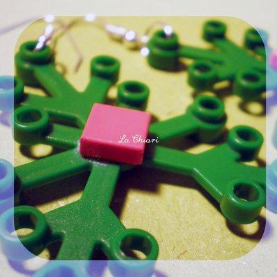PALM BEACH LEGO earrings