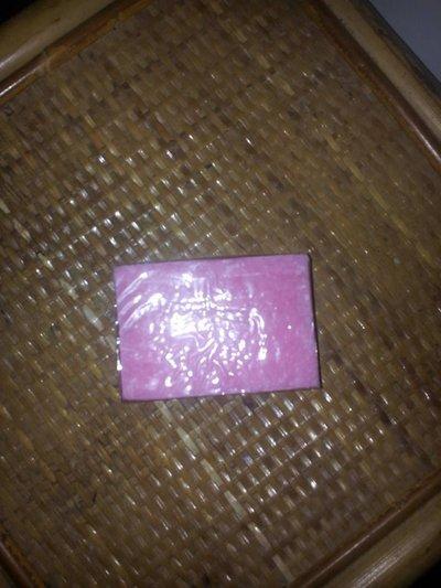 saponetta artigianale naturale alla rosa mosqueta