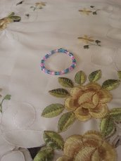 braccialetto perline bimba