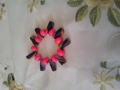 braccialetto in fimo artistico