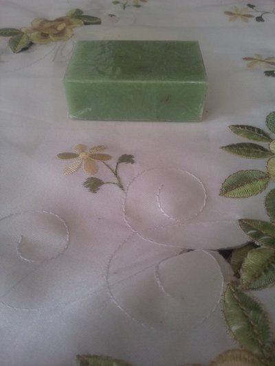 Saponetta artigianaleal the verde