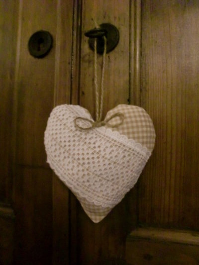 cuore in tessuto