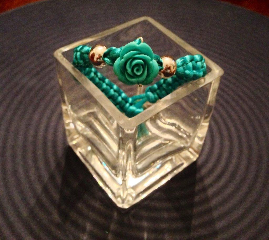 BracciaELE Turquoise Rose