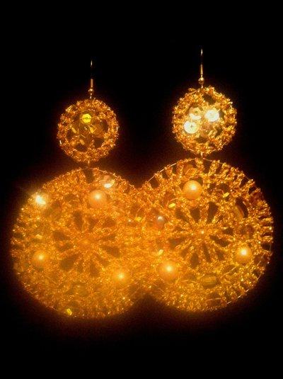 "orecchini ""GOLD"""