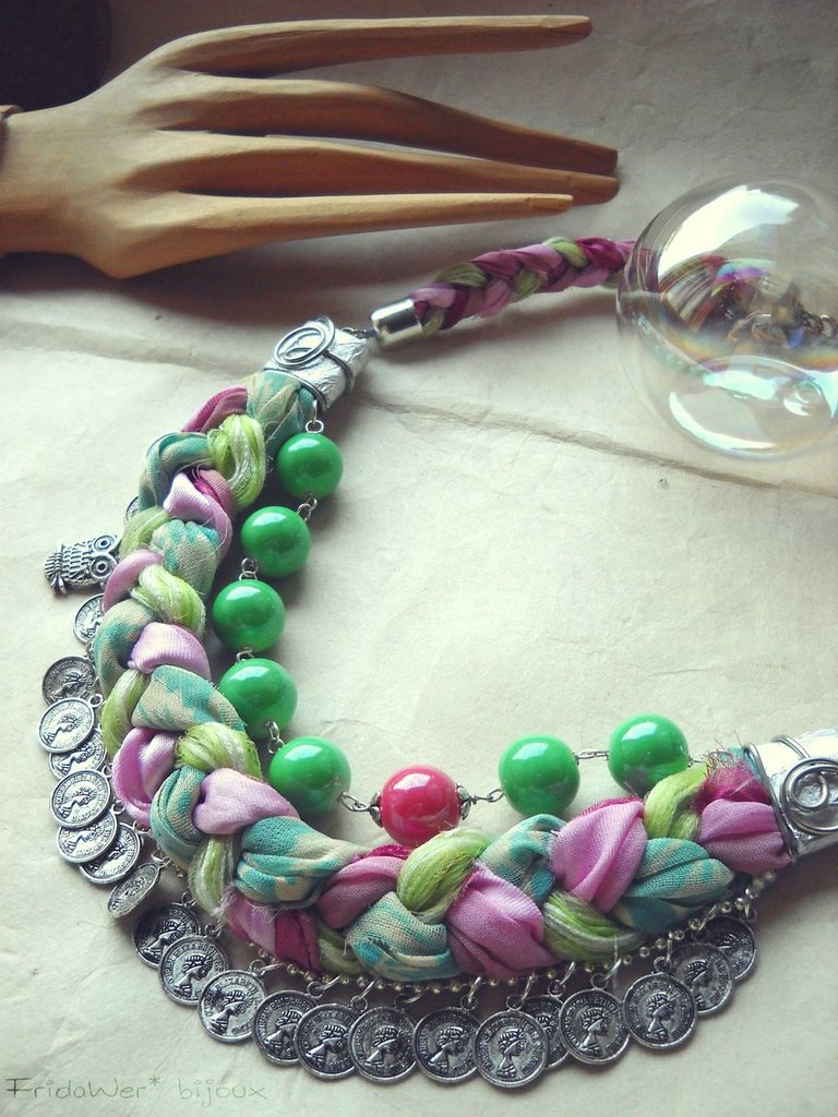 Collana Baby Bubble Money - Green by FridaWer - Free Shipping