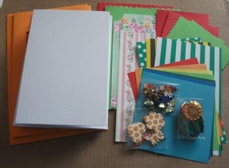 Kit creativo per Cardmaking^^ - CrazyGarden!!!