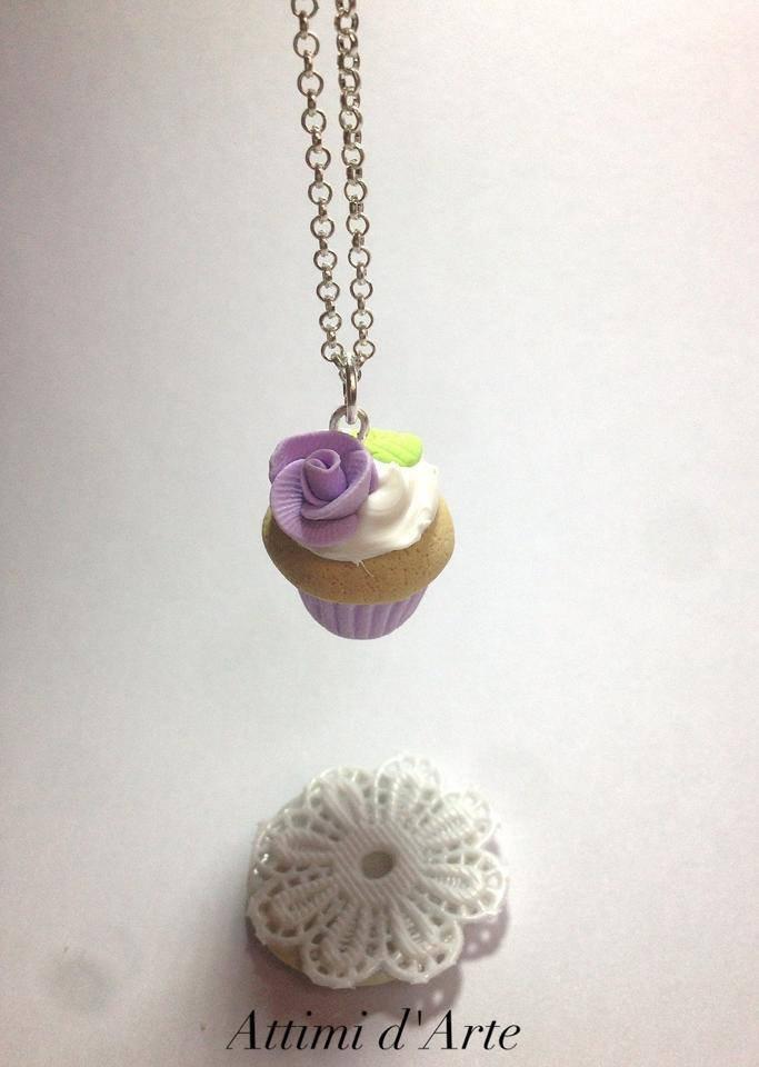 "collana cupcakes ""romantic""  viola handmade"