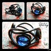 """C49 anello wire """"Matrix"""""""