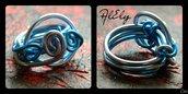 """C50 anello wire """"Dama delle Isole"""""""