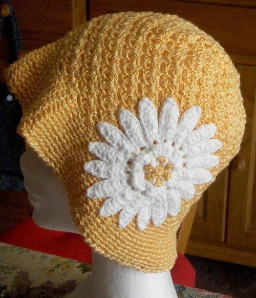 Berretto cappello bambina donna cotone uncinetto