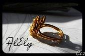 """C67 anello wire """"La Mimosa"""""""