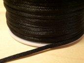 10 M coda di topo nera lucida 2 mm