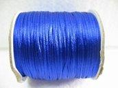 10 M coda di topo blu elettrico lucida 2 mm
