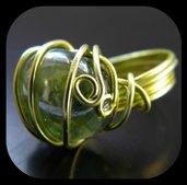 """C71 anello wire """"Filo D'Erba"""""""