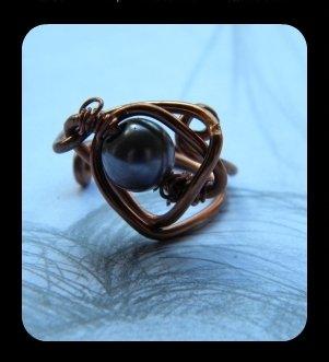 """C78 anello wire """"Cosmo"""""""