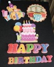 Collezione già pronti!!! - Festa di Compleanno 3D fustellati - scrapbooking e cardmaking